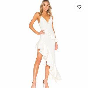 Riya Gown in White (Revolve website)